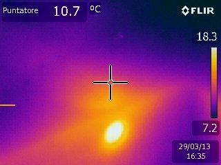Termografia soffitto
