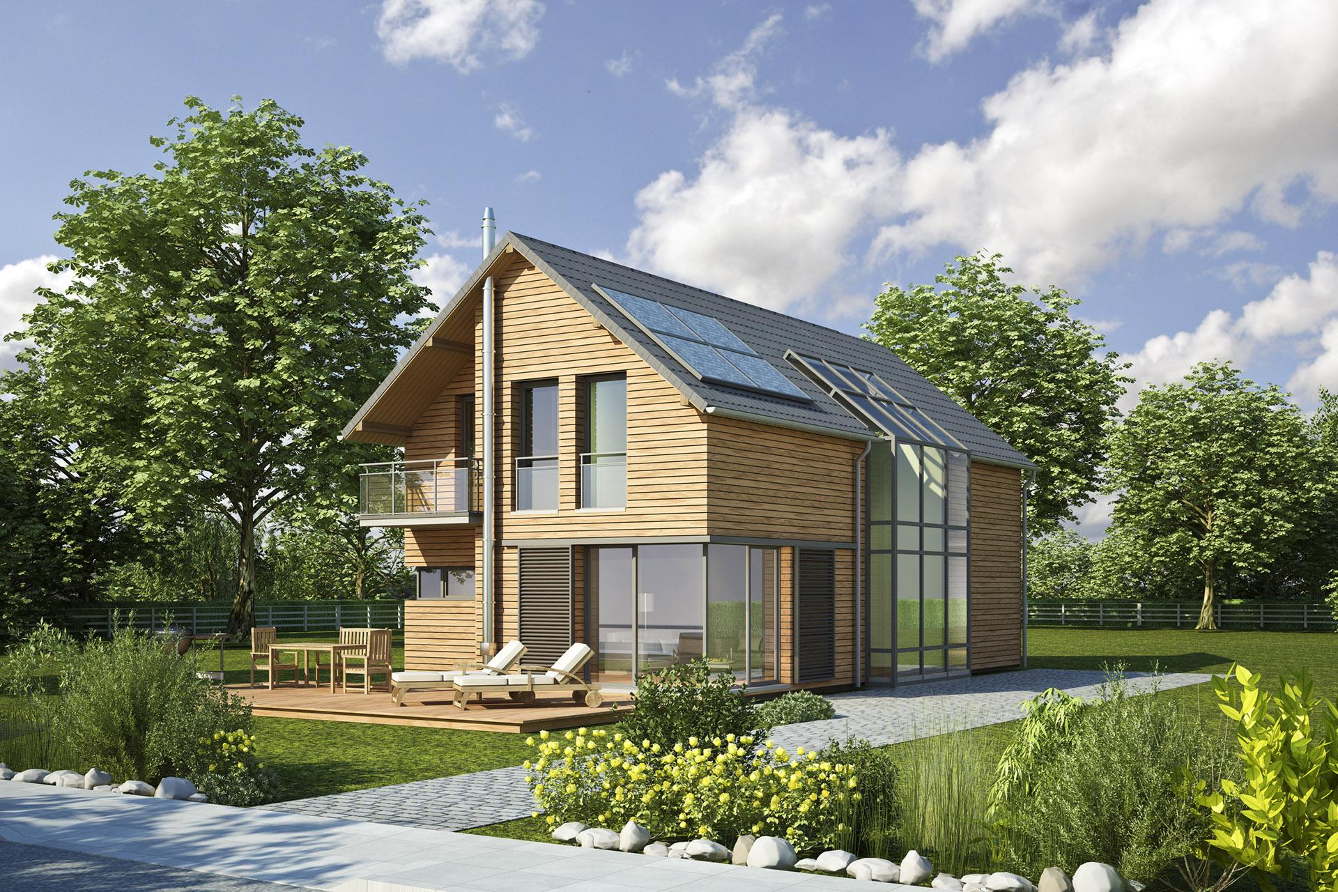 realizzazione casa in legno ecologia a brescia e bergamo